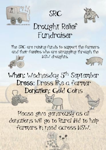 SRC Drought RElief Fundraiser